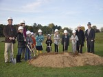 New Elementary Center Groundbreaking - October 31, 2016